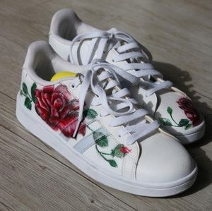 NWOT Adidas - Hand Painted Size 8.5